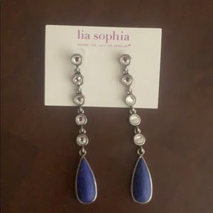 Lia Sophia Corte d' Azure Earrings